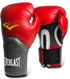 Everlast Pro Style Elite Training Boxing Gloves (M, Red)