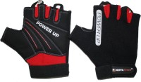 Nova Fitness Weight Training Gym & Fitness Gloves (L, Black, Red)