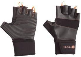 Domyos Pro Gym & Fitness Gloves - L, Black