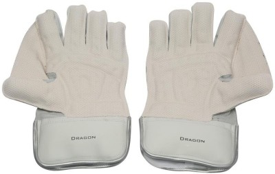 SS Dragon Wicket Keeping Gloves (Men, White, Red)