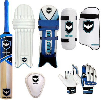 Birdblue combo cricket Batting Gloves (Men, Blue, Black)