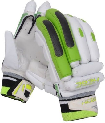 Hebe K Batting Gloves (Men, Green, White)