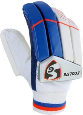 SG Ecolite Batting Gloves (M, Multicolor)