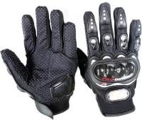 Motoway Pro Bike Full Racing Biking Driving Motorcycle 02 Riding Gloves (L, Black)