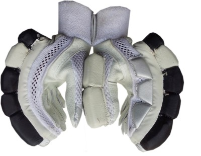 VSP TRIMAX Batting Gloves (Youth, White, Black)