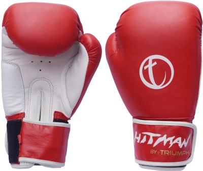 Hitman By Triumph New All Leather Strike Boxing Gloves For Rs 2 800 At Flipkart Com