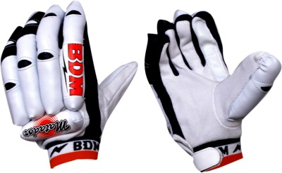 BDM Matador Batting Gloves (Men, Black, Orange)