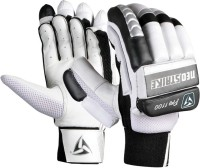 Neo Strike Pro1100 Mens Batting Gloves (Men, White, Black, Silver)