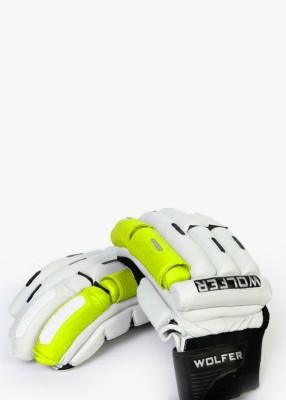Wolfer Player Edition (Right Hand) Batting Gloves (XL, Green, White)
