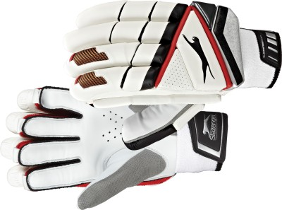Slazenger X-lite Batting Gloves (L, White)