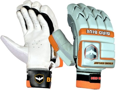 Birdblue Strome Staylight Batting Gloves (Youth, White, Orange)