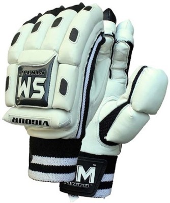 SM Vigour Batting Gloves (Men, Multicolor, Grey)