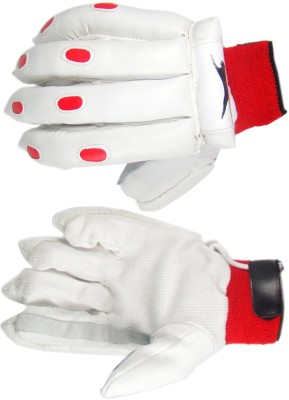 Slazenger Academy Batting Gloves (White)