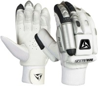 Neo Strike Pro 850 Batting Gloves (Men, White, Black, Silver)