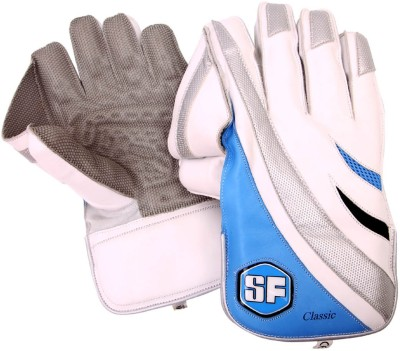 SF Classic Pro Wicket Keeping Gloves (Men, Multicolor)