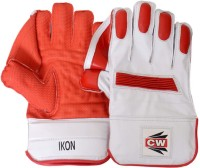 CW Ikon Wicket Keeping Gloves (Men, Orange, White)