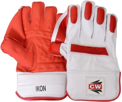 CW Ikon Wicket Keeping Gloves (Men, Orange, White)