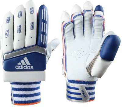Adidas BG CX11 V1 16 Batting Gloves (M, White, Blue, Red)