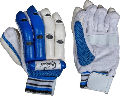 Prokyde Aligator Batting Gloves (S, White, Blue)