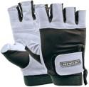Nivia Dragon Leather Gym & Fitness Gloves - NA, Black, Grey