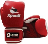 Xpeed Moulded Terminator Boxing Gloves (Free Size, Red)