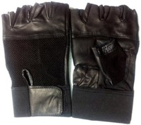 Protoner Hitech Gym & Fitness Gloves (Free Size, Black)