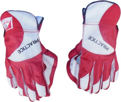 Turbo PRACTICE (Half Samber) Wicket Keeping Gloves (Men, Multicolor)