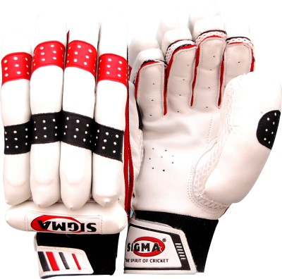 Sigma Prestige Batting Gloves (M, White)