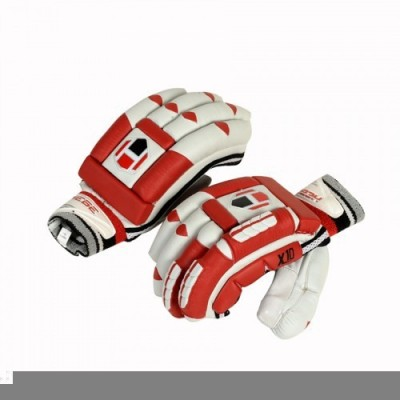 Hebe X10 Batting Gloves (Men, Red, White)