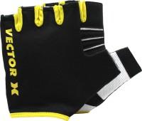Vector X VX-450 Gym & Fitness Gloves (L, Black)