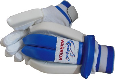 Prokyde Warrior Batting Gloves (Boys, White, Blue)