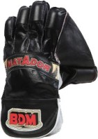 BDM Matador Wicket Keeping Gloves (Men, Black, Red)