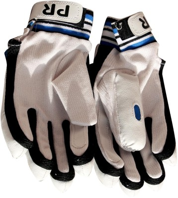 PR DELUXE Batting Gloves (Free Size, White)