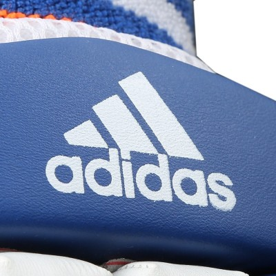 Adidas BG MATCH 16 Batting Gloves (M, White, Blue, Red)
