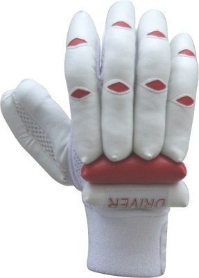 Wombat Driver Batting Gloves (L, Red, White)