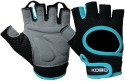 Kobo Weight Lifting (Imported) Gym & Fitness Gloves (L, Black, Blue)