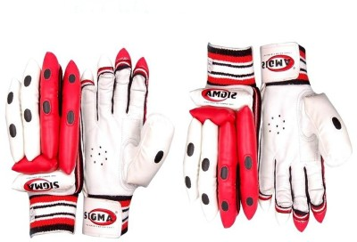 Sigma Pro Test 2 Batting Gloves (M, White)