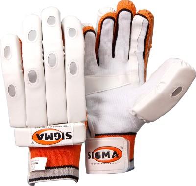 Sigma Maxlite 2 Batting Gloves (M, White)