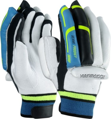 Kookaburra VERVE 400 Batting Gloves (Men, White, Blue, Black)