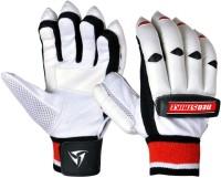 Neo Strike Pro 100 Batting Gloves (Men, White, Red, Black)