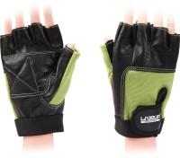 Liveup Training Gloves Gym & Fitness Gloves (Green, Black)