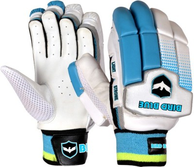 Birdblue Light Strome Batting Gloves (Men, White, Blue)