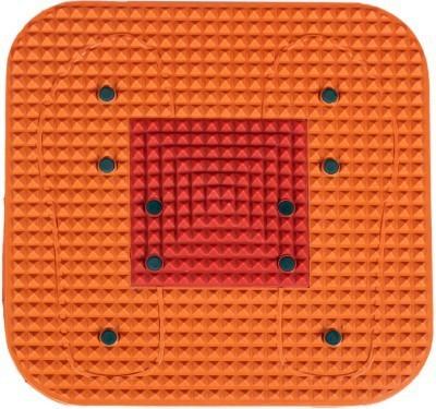 Verow Acupressure Magnetic Mat Set of 2 Equipment Orange 2 mm