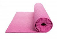 Neo Gold Leaf Premium Yoga Mat Zipper Exercise & Gym Light Pink 4 Mm
