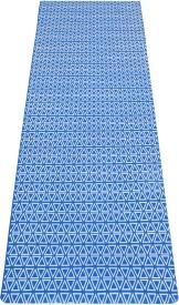 Aerolite Jaipuri Triangle Yoga Blue 8 mm