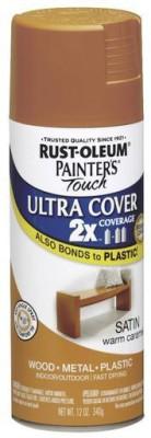 Rust-Oleum Painter's Touch Satin Warm Caramel Spray Paint 340 ml