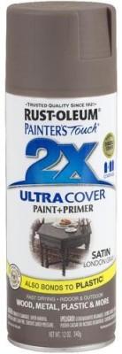 Rust-Oleum Painter's Touch Satin London Gray Spray Paint 340 ml