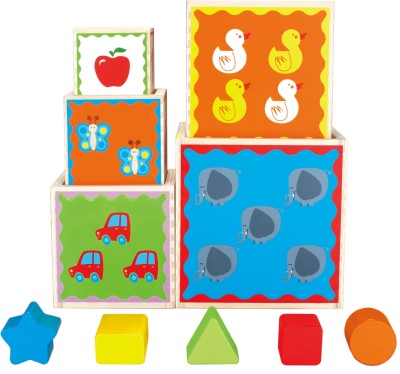 Hape Stacking Toys Hape Pyramid of Play