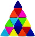 Rubbabu Just Triangles Set Of 16 - Multicolor