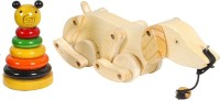 MNC Combo Of(Ring Set Teddybear+Dog) (Multicolor)